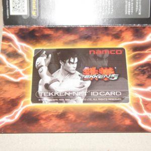 Tekken 5 ID Card