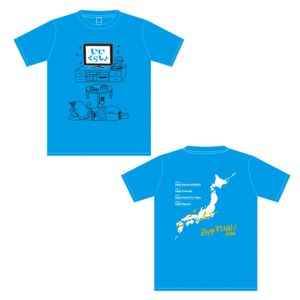 Iikurashina TShirt Blue